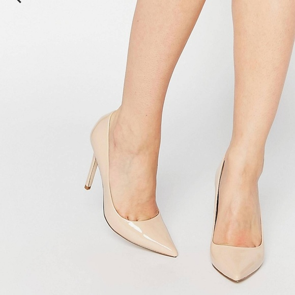 PERU Pointed High Heels - Gold Asos tUxBRA